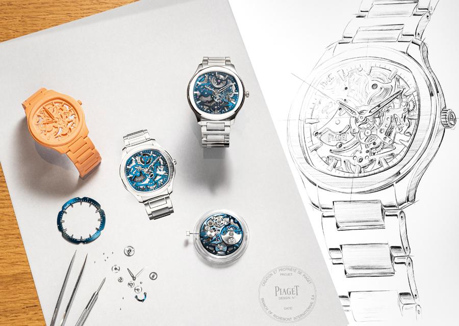 Réussite esthétique, la montre Polo Skeleton de Piaget est une pure merveille de micromécanique horlogère.