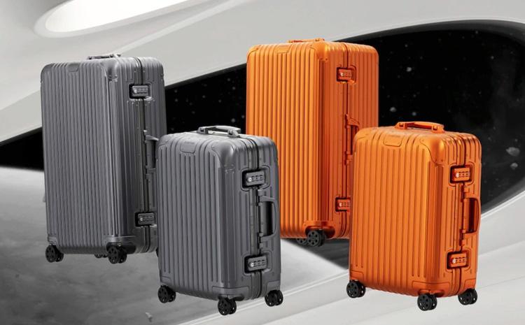 Les nouveaux bagages Mercure et Mars de Rimowa