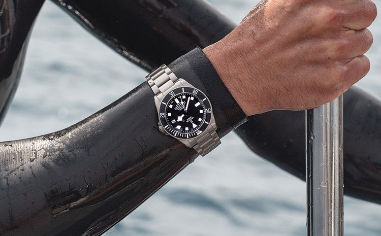 Montre Tudor Pelagos en situation