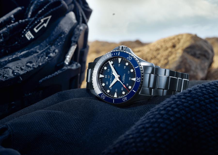 La nouvelle montre Hamilton Khaki Navy Scuba est étanche à 300 mètres