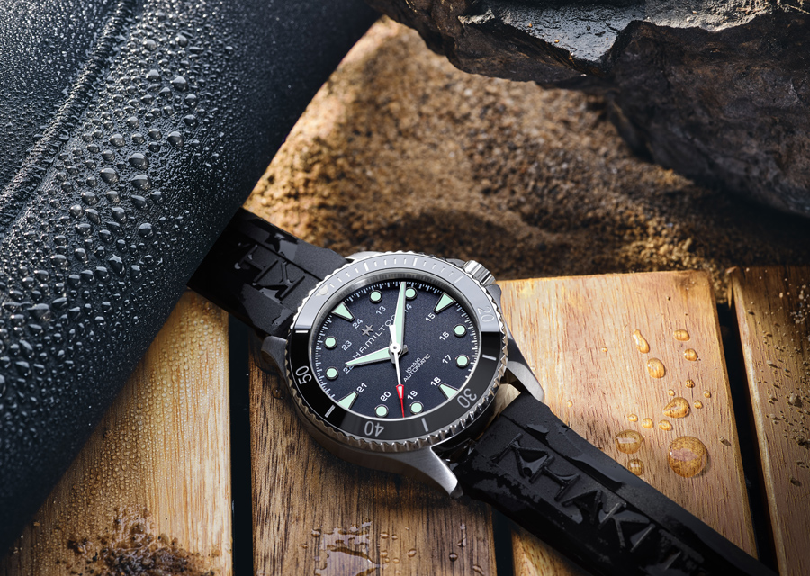 Hamilton a optimisé les performances de sa montre de plongée Khaki Navy Scuba