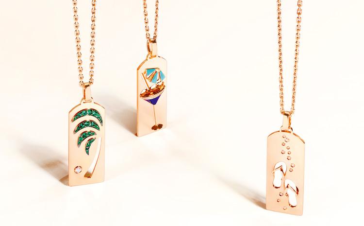 Les pendentifs de la collection RIVIERA de Fred