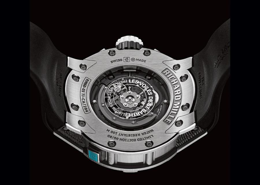 Richard Mille RM 60-01 AUTOMATIQUE CHRONOGRAPHE FLYBACK LES VOILES DE ST BARTH
