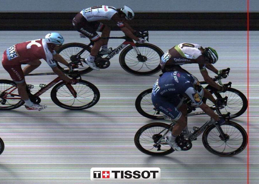 Tissot, chronométreur officiel du Tour de France