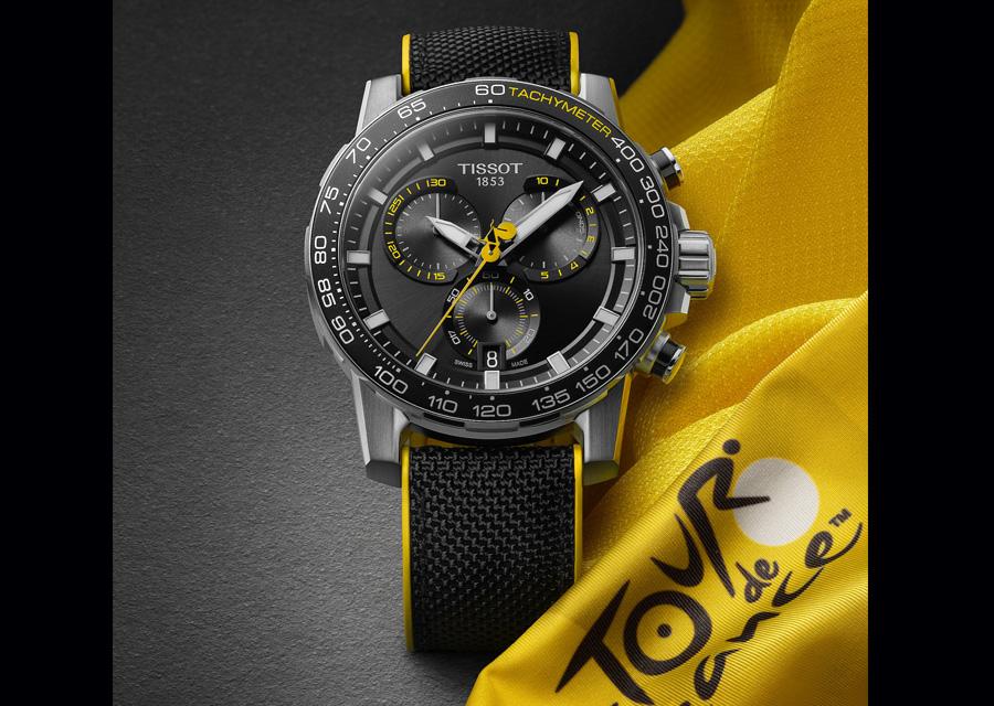 Montre Tissot Supersport Chrono Tour de France.
