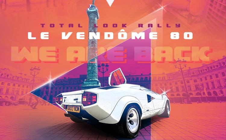 Affiche du Rallye Total Look Vendôme 80