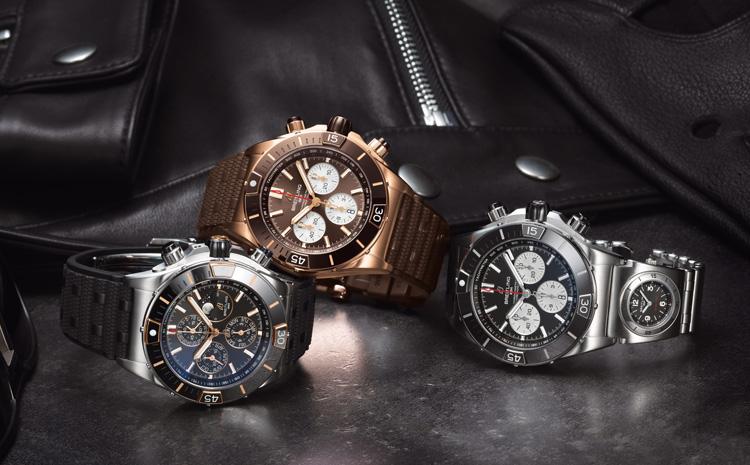 Les nouvelles variations masculines des Chronomat de Breitling