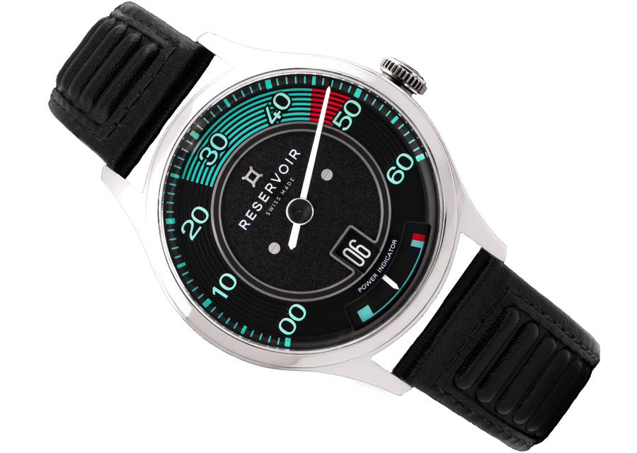Symbiose entre montres et automobile, la Reservoir Kanister reprend les compteurs de la Porsche Speedster 356
