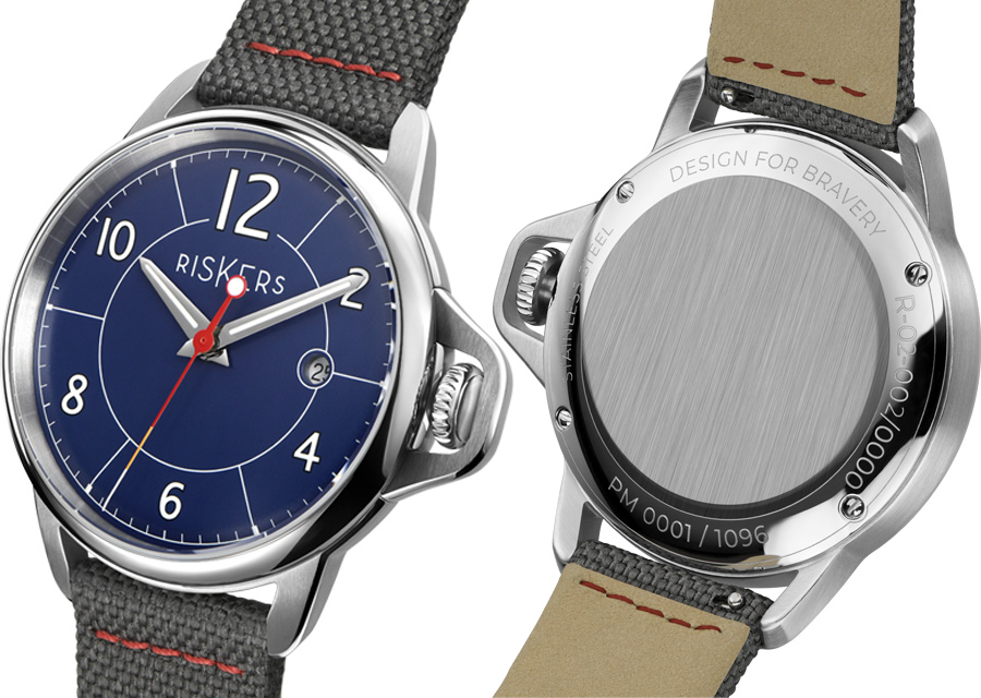 La montre Riskers Chapter 3 réinterprête les célèbres montres des tranchée de la guerre 14-18