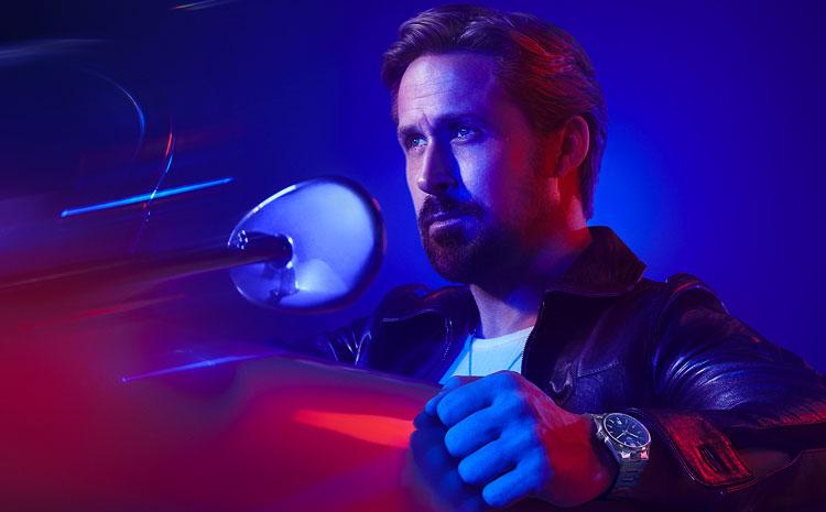 Ryan Gosling pour la nouvelle campagne publicitaire de TAG Heuer