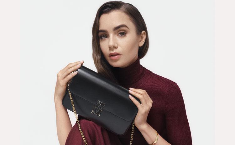 Lily Collins, nouvelle ambassadrice de Cartier