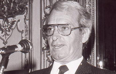 Michel Herbelin, fondateur de la maison horlogère française