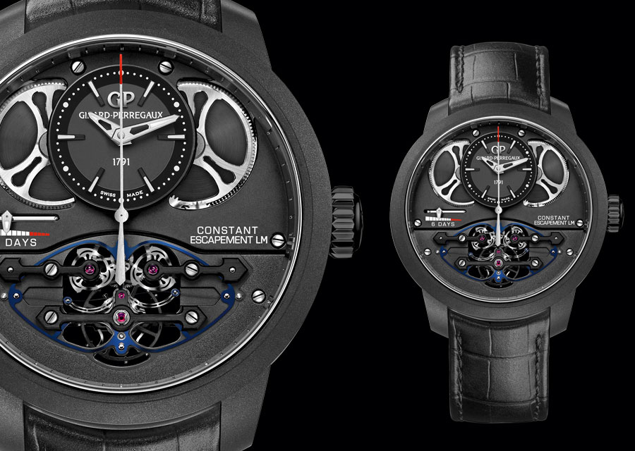 Girard-Perregaux - New Constant Escapement L.M. in carbone composite