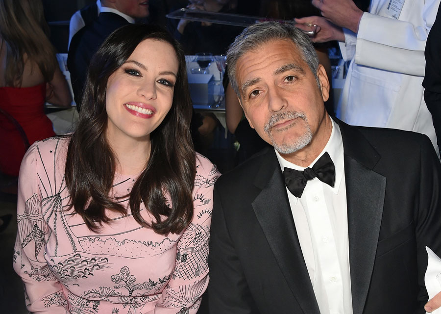 Liv Tyler and George Clooney
