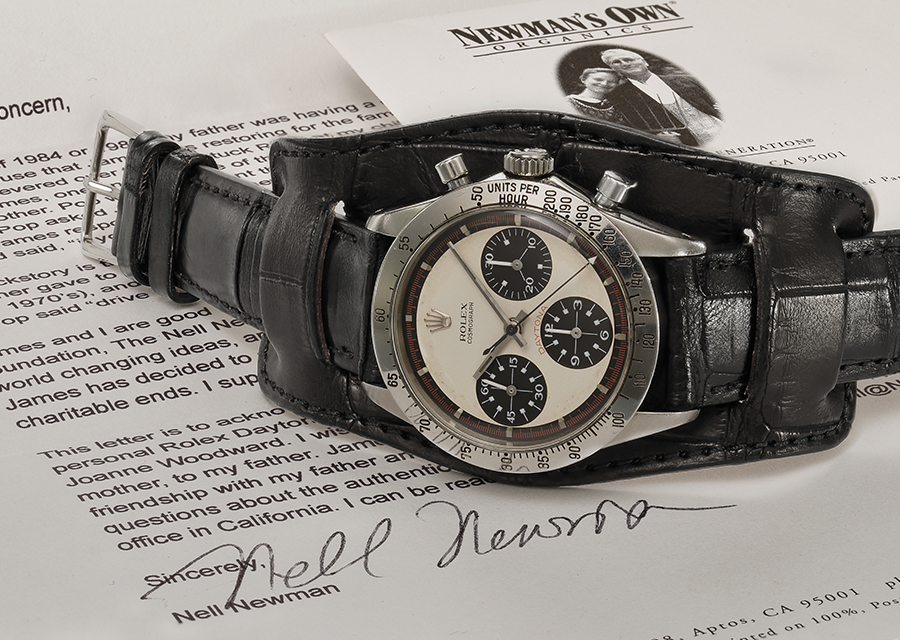 Paul Newman's original Daytona auctioned on October, 26th of 2017