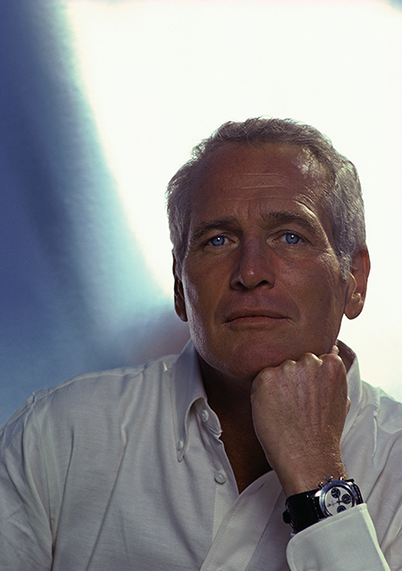 Paul Newman with his Daytona - DouglasKirkland/Corbis/Getty Images