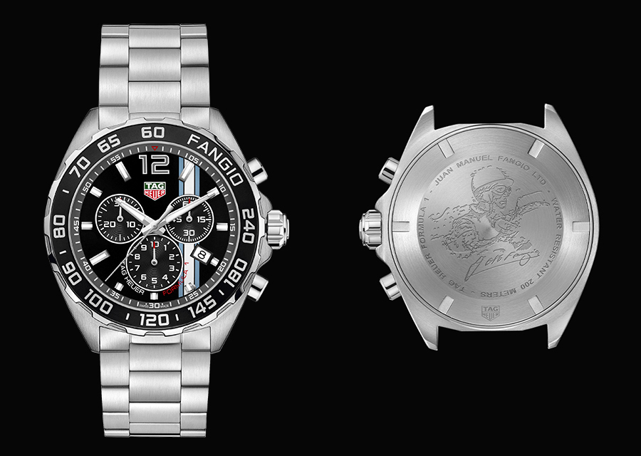 TAG Heuer Formula 1 Fangio special edition