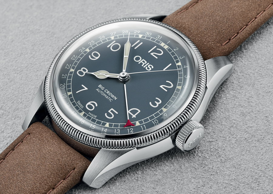 La nouvelle Oris Big Crown Pointer Date
