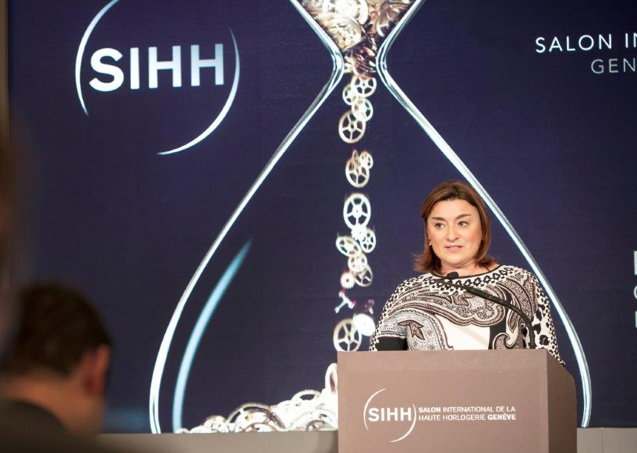 Fabienne Lupo, President and Managing Director of the SIHH