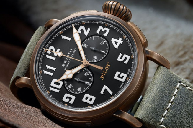 Baselworld 2017 : Zenith en mode bronze