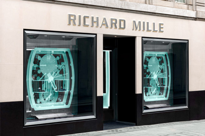 Richard Mille, London recalling