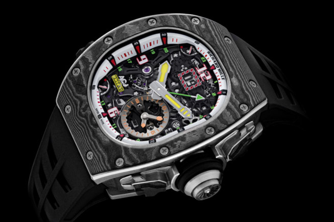 Richard Mille passe en mode vibreur