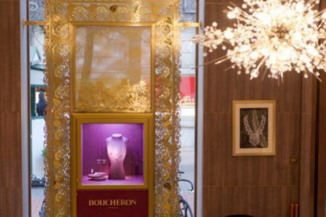 La nouvelle boutique Boucheron de New Bond Street à Londres