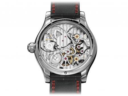 Le Montblanc TimeWriter II Chronographe Bi-Fréquence 1.000 : côté fond.