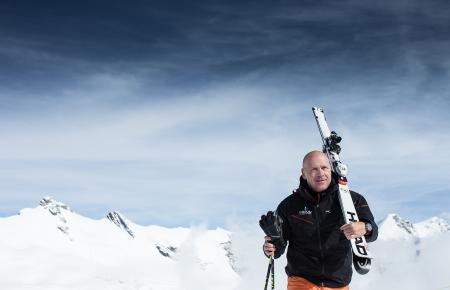 Didier Cuche, sportif d'élite et ambassadeur de Corum.