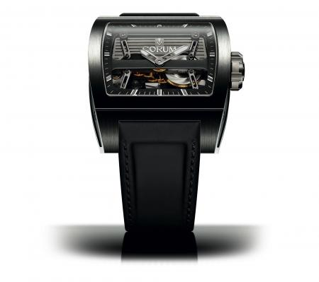 La Ti-Bridge Automatic Dual Winder de Corum.