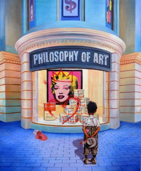 Tableau « Philosophy of Art » de Gully