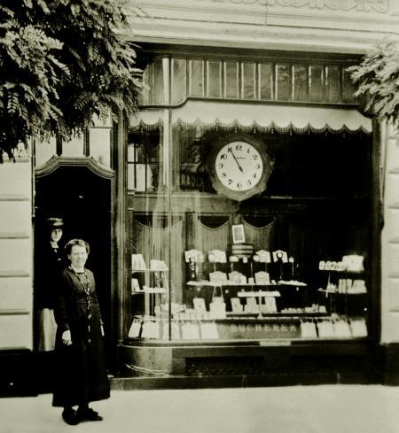 Première boutique à Lucerne