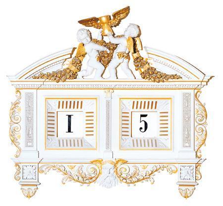 Horloge digitale à cinq minutes - 1841