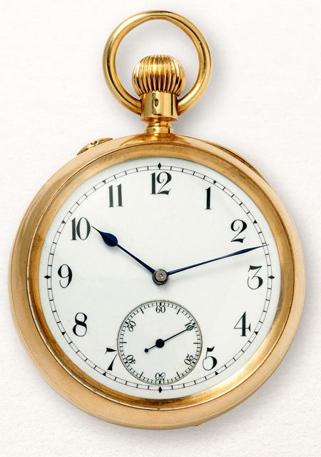 Chronomètre de poche à tourbillon - 1892