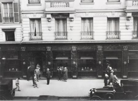 La boutique Cartier rue de la Paix en 1899