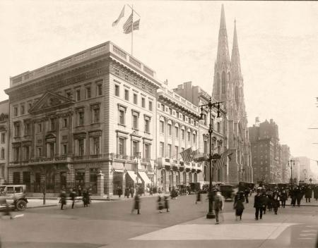 La boutique Cartier de New York en 1922