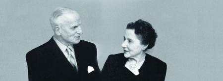 1911 - Eugène Blum et Alice Lévy