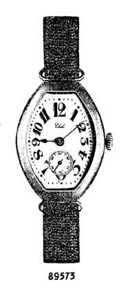 1912 - Lancement de la première montre-bracelet Ebel