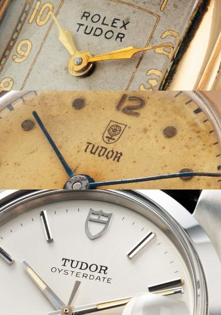 Evolution du logo TUDOR depuis 1920