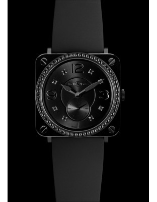 BR S Black Ceramic Phantom Diamonds