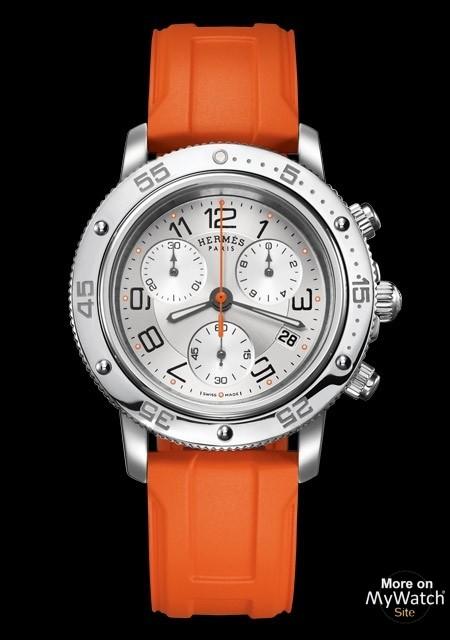 9d507905db7 Hermès Clipper Chrono Quartz Plongée