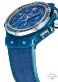 Big Bang Tutti Frutti Linen Ocean Blue