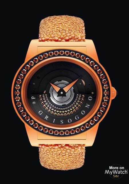Tondo By Night Orange