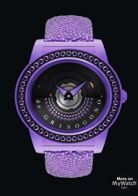 Tondo By Night Purple
