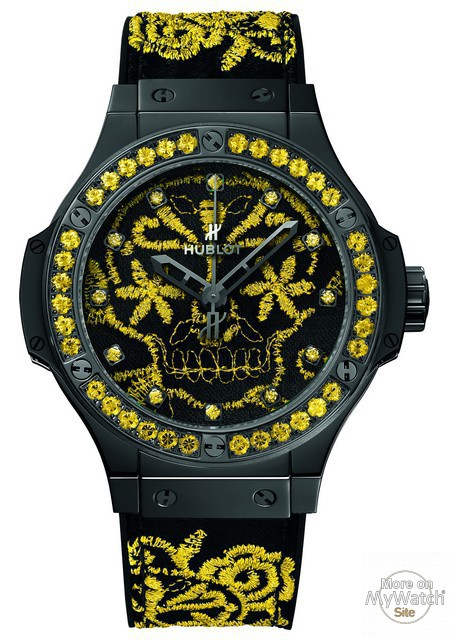 Big Bang Broderie Sugar Skull Fluo