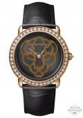 Révélation d'une Panthère 37mm, or rose, diamants, billes d'or rose