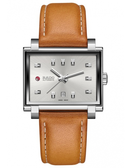 Rado Tradition 1965 cadran blanc bracelet orange