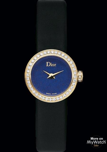 1b40a55e0cb94d Dior La Mini D de Dior Lapis-Lazuli   La D de Dior CD040153A006 Or ...