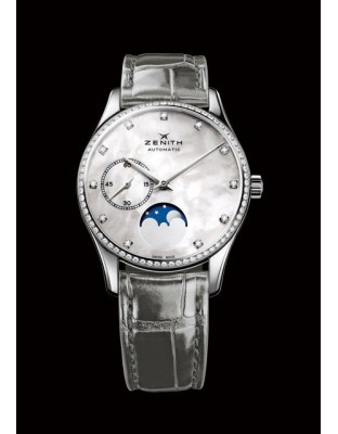 Elite Ultra Thin Lady Moonphase