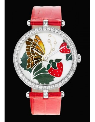 Lady Arpels Papillon Rouge Gourmand